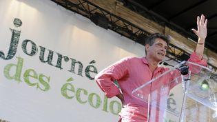 Le secrétaire national d'Europe Ecologie-Les Verts, Pascal Durand, le 22 août 2013 à Marseille (Bouches-du-Rhône). (FRANCK PENNANT / AFP)