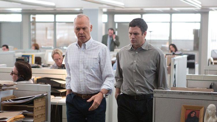 """Michael Keaton et Mark Ruffalo dans """"Spotlight""""  (Open Road Films)"""