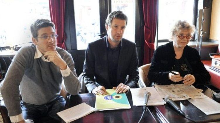 L'eurodéputé Pascal Canfin (à gauche) est membre de la Commission des affaires économiques et monétaires. (AFP - Stéphane de Sakutin)