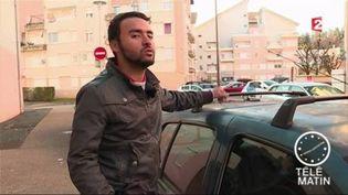 Osama Aoukili raconte son rodéo sur sa voiture à Oyonnax (Ain) (FRANCE 2)