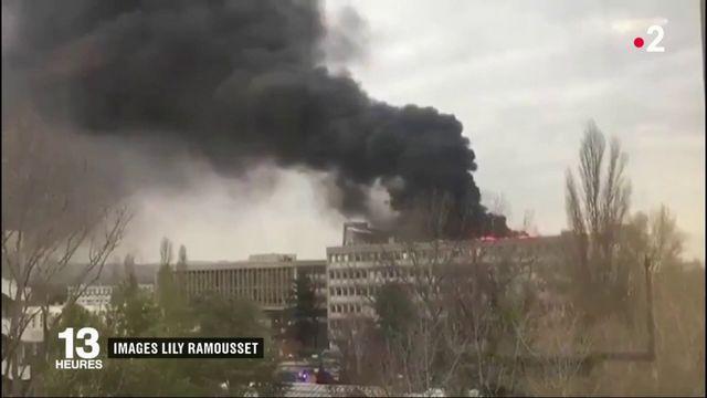 Villeurbanne : explosions et incendie sur un campus universitaire