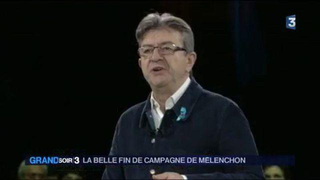 Présidentielle : la belle fin de campagne de Mélenchon