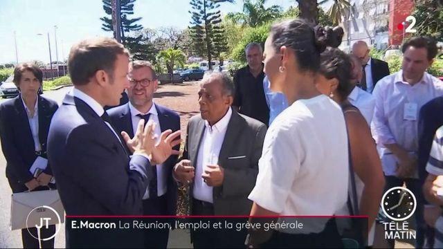 La Réunion : Emmanuel Macron au chevet de l'emploi