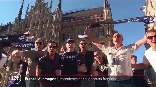 France-Allemagne : les supporters français font déjà vibrer les rues de Munich