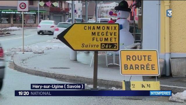 Savoie : routes coupées en plein retour des vacances
