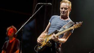 Sting, lors d'un concert à Prague (République tchèque), le 23 juin 2017. (MICHAL KAMARYT/AP/SIPA / AP)