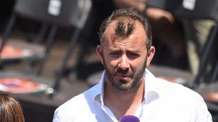 Thierry Ascione, le 27 mai 2017 à Lyon. (FREDERIC CHAMBERT / MAXPPP)