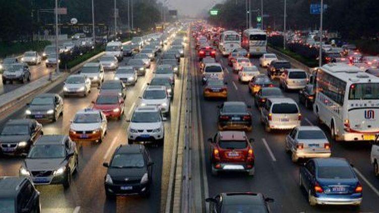 Embouteillage à Pékin (Imaginechina)