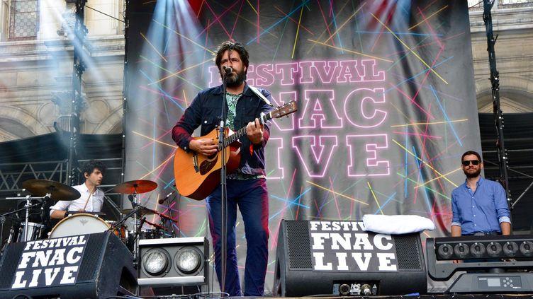 La Maison Tellier se produisait samedi au Fnac Live Festival, à Paris.  (Adrien Morcuende / Culturebox)
