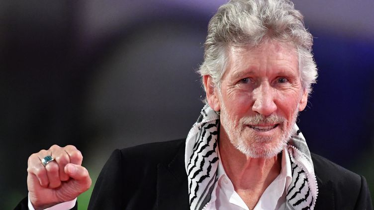 Rogers Waters,auteur-compositeur, chanteur et bassiste de Pink Floyd, le 6 septembre 2019. (ALBERTO PIZZOLI / AFP)