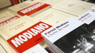 Les ventes des romans de Patrick Modiano boostées par le Nobel  (ETIENNE LAURENT / ANADOLU AGENCY / AFP)