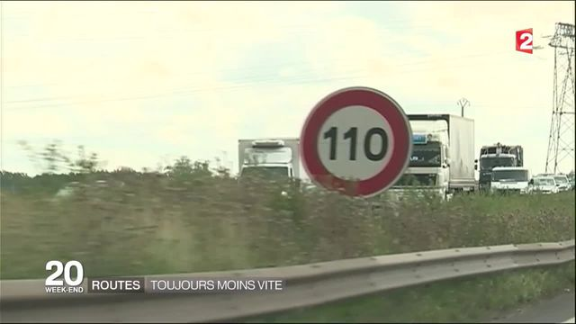 Automobile : la vitesse va baisser sur certaines routes d'Ile de France