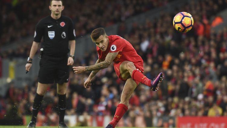 Le joueur de Liverpool, Philippe Coutinho (PAUL ELLIS / AFP)