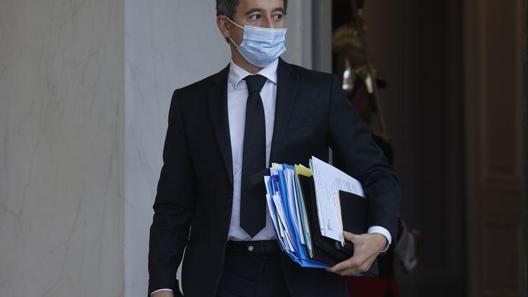 Gérald Darmanin, le ministre de l'Intérieur, mardi 10 novembre 2020. (LUDOVIC MARIN / AFP)