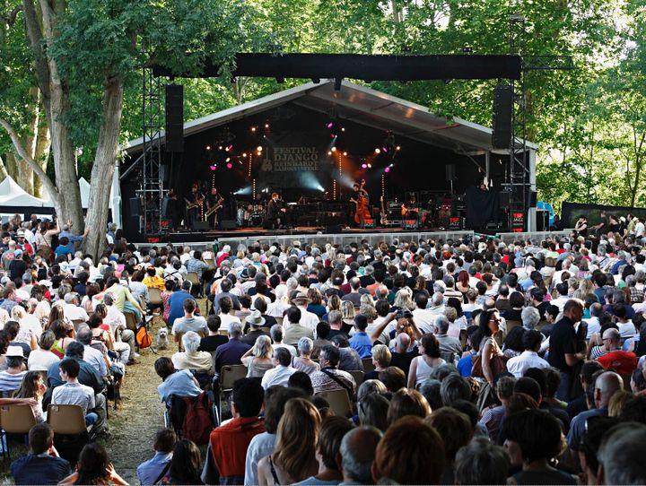 Concert du festival Django Reindhardt à Samois-sur-Seine (Seine-et-Marne)  (Photo Anthony Voisin, Festival Django Reinhardt)
