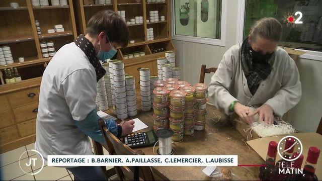 Fêtes de fin d'année: boom des ventes de foie gras en ligne