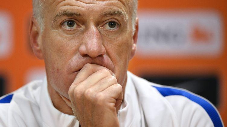 Didier Deschamps songeur (FRANCK FIFE / AFP)