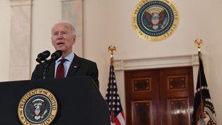 Le président américain Joe Biden à la Maison Blanche, le 22 février 2021. (SAUL LOEB / AFP)