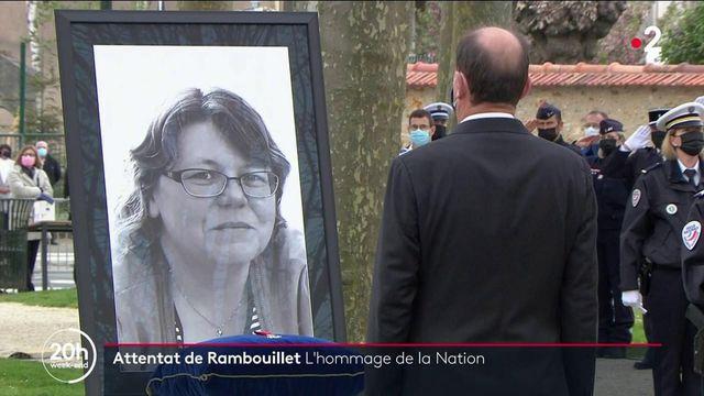Attentat de Rambouillet : l'hommage de la Nation pour Stéphanie Monfermé
