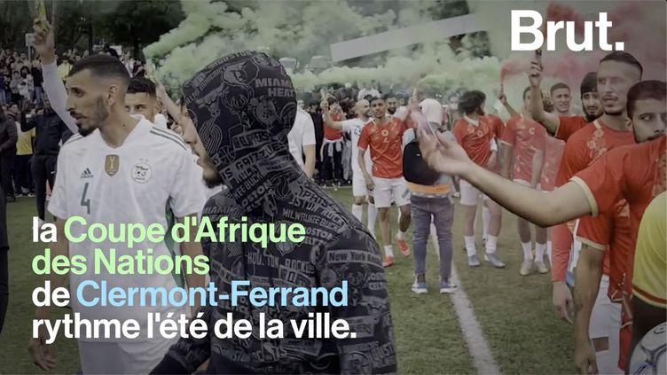 VIDEO. Dans les coulisses de la CAN de Clermont-Ferrand, une compétition de foot pas comme les autres (BRUT)