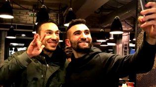 """Présenté dans le cadre du festival Nikon, le film de Yasin Celik """"Je suis un rêve"""", raconte son souhait le plus fou : rencontrer le footballeur Mevlüt Erdinç   (France 3 / Culturebox / capture d'écran)"""