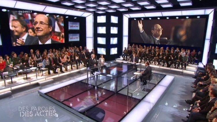 """François Hollande invité de """"Des paroles et des actes"""" jeudi (FTV)"""