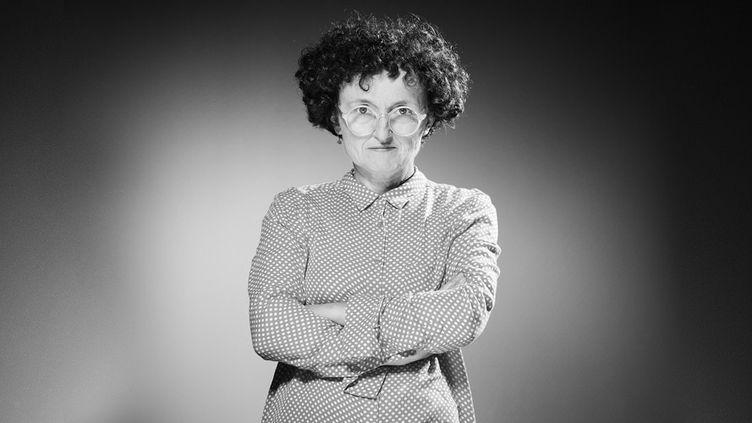 La romancière Marie-Hélène Lafon, septembre 2017  (JOEL SAGET / AFP)