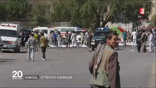 Kaboul : attentat kamikaze revendiqué par le groupe État islamique