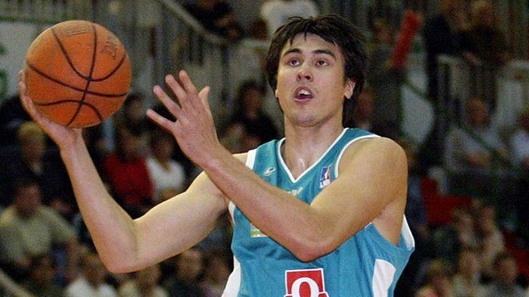 Arthur Drozdov sous le maillot palois en 2006 (ALAIN JULIEN / AFP)