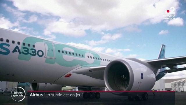 """Coronavirus : """"La survie d'Airbus est en jeu"""", s'alarme son président, Guillaume Faury"""