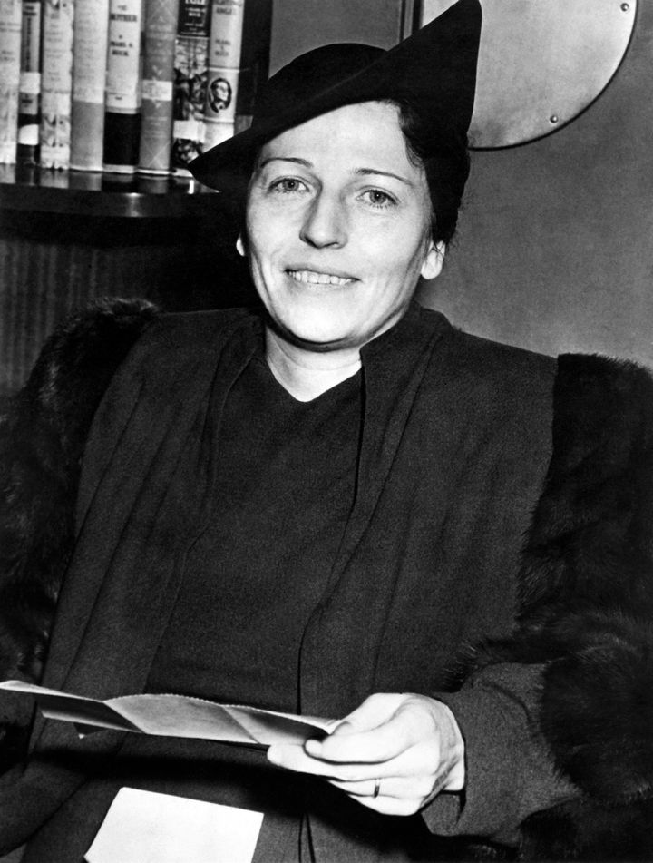 La romancière américaine Pearl Buck en 1938 (AFP / FRANCE PRESSE VOIR)