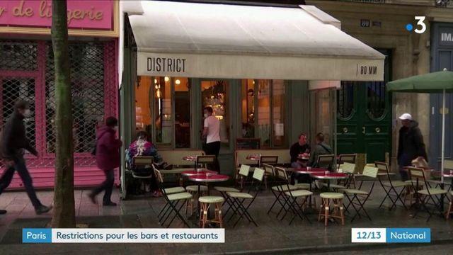Mesures sanitaires : 15 jours de restriction à Paris