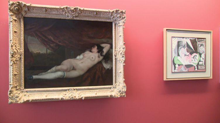 Exposition Courbet / Picasso. Révolutions ! au musée Courbet d'Ornans (France 3 Franche-Comté)