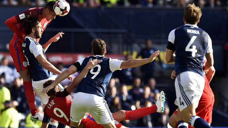 Angleterre-Ecosse  (ANDY BUCHANAN / AFP)
