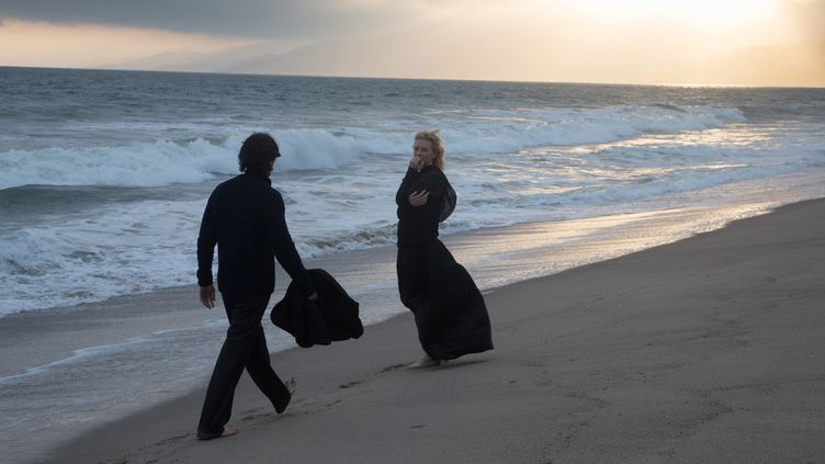 "Christian Bale et Cate Blanchett dans ""Knight of Cups""  (StudioCanal)"