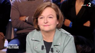 """Nathalie Loiseau sur le plateau de """"L'Emission politique"""", le 14 mars 2019. (L'EMISSION POLITIQUE / FRANCE 2)"""