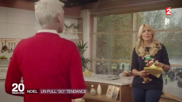 Royaume-Uni : le pull de Noël est devenu tendance