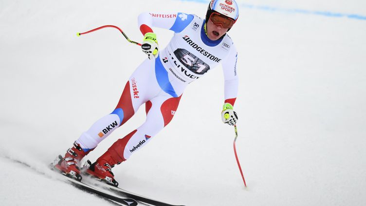 Le Suisse Niels Hintermann (FABRICE COFFRINI / AFP)