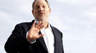 Le producteur Harvey Weinstein, le 5 octobre 2015, à Cannes (Alpes-Maritimes). (VALERY HACHE / AFP)