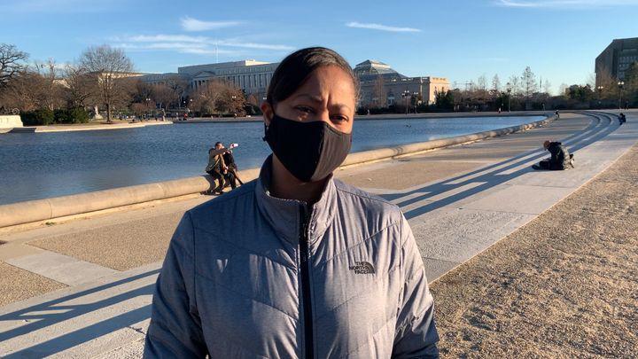 Erica Lipscomb, 49 ans, responsable marketing pour une chaîne hôtelière, WashingtonDC. (FRANCK MATHEVON / RADIO FRANCE)