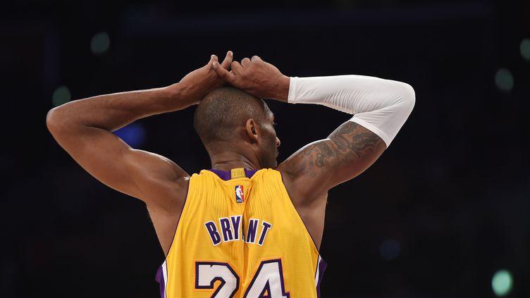 Kobe Bryant manquera (encore) la fin de saison des Lakers (ROBYN BECK / AFP)