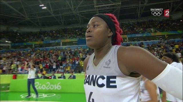 """JO 2016/basket : défaite des """"Braqueuses"""", pas de médaille de bronze"""