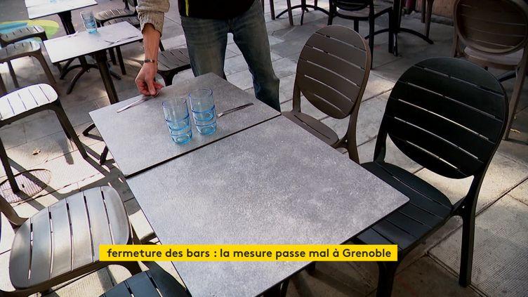 Les bars de Grenoble vont fermer leurs portes pour 15 jours à partir du samedi 10 octobre (France 3 Alpes)