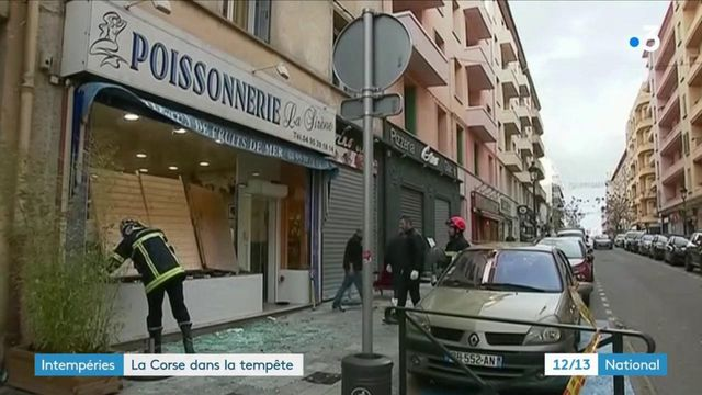 Intempéries : la Corse touchée par la tempête Fabien