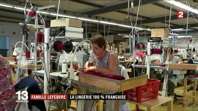 Famille Lefebvre : la lingerie 100% Française
