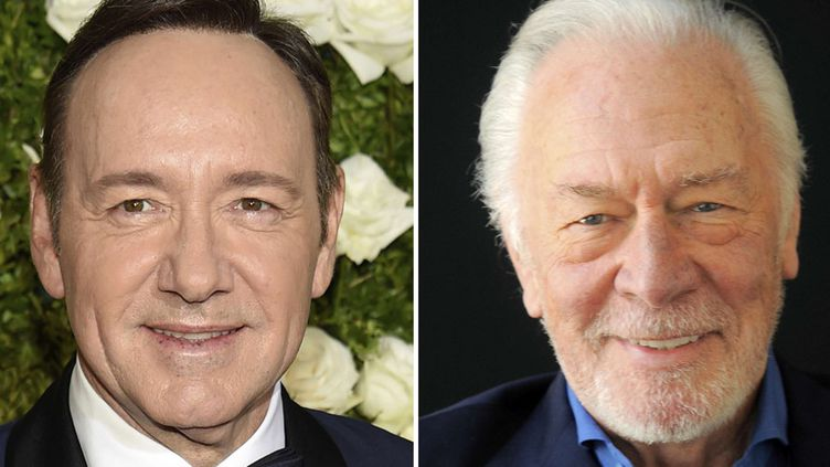 Kevin Spacey aux Tony Awards (New York, 11 juin 2017) ; Christopher Plummer à Beverly Hills (25 juillet 2013)  (AP / Sipa)