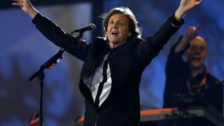L'ex-Beatle Paul McCartney a entonné ses tubes lors de la cérémonie d'ouverture des Jeux olympiques de Londres, le 27 juillet 2012. (REUTERS)