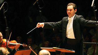 Tugan Sokhiev nouveau directeur musical du Bolchoï  (BORDAS/SIPA )