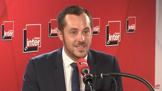 Nicolas Bay, le 26 juin 2019. (FRANCE INTER / RADIO FRANCE)