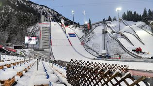 Tout est prêt à Oberstdorf pour accueillir les mondiaux. (FRANK HOERMANN/SVEN SIMON / SVEN SIMON)